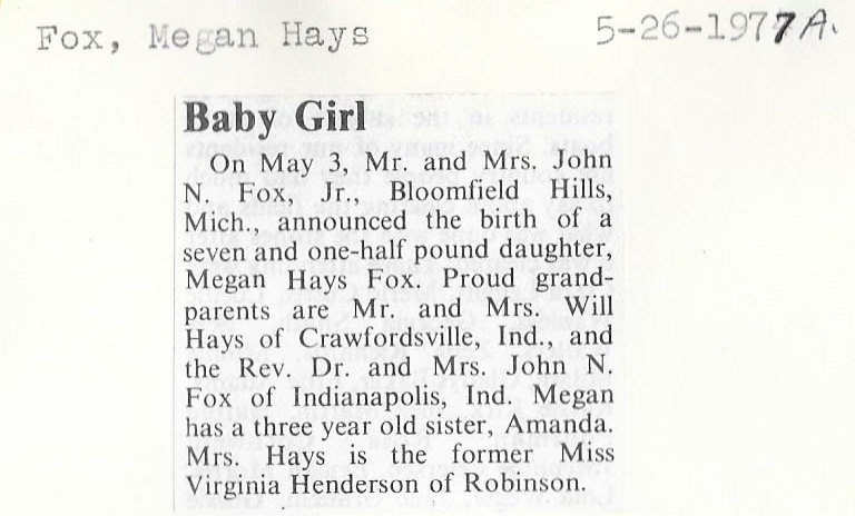 Crawford County IL Historical Society - Birth and Adoption